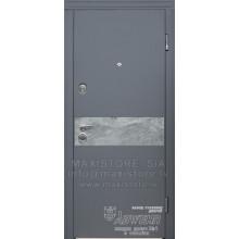 Metāla durvis ar MDF apdari Marla