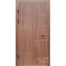 Metāla durvis ar MDF apdari Jeraldina