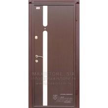 Metāla durvis ar MDF apdari ARABIKA (Venge)