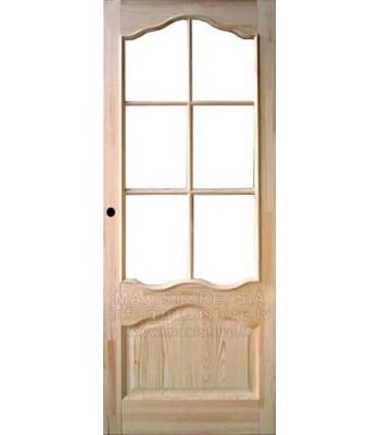 PERLE durvju komplekts (ar stikla vietu)