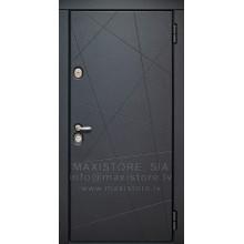 Metāla durvis ar MDF apdari Melissa