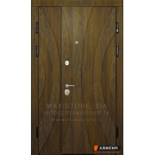 Metāla durvis ar MDF apdari Hanna 1200x2050