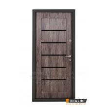 Metāla durvis ar MDF apdari  DAKOTA