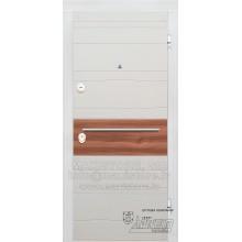 Metāla durvis ar MDF apdari Kasia