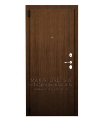 Metāla durvis ar MDF apdari Gl-1 (Rieksts) 86 Laba
