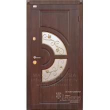 Metāla durvis ar MDF apdari GLORIA (Tumšais Rieksts)