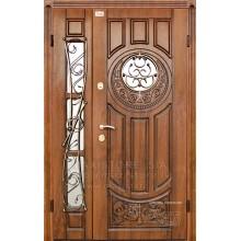 Metāla durvis ar MDF apdari Milita 1200x2050 (Zeltainais Ozols patina)