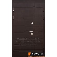 Metāla durvis ar MDF apdari Linea 1200x2050
