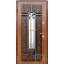 Metāla durvis ar MDF apdari FABIANA (Zelt. Ozols patina)